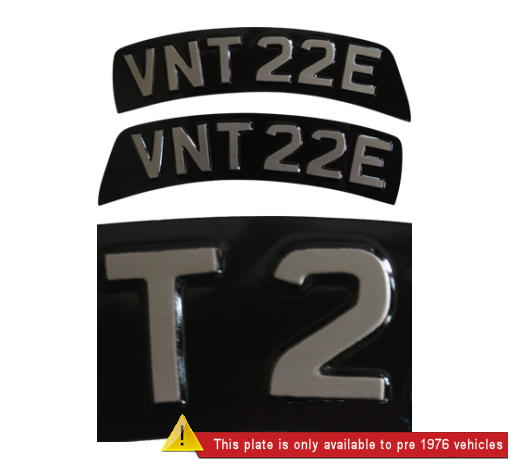 black-and-silver-pressed-metal-embossed-curved-triumph-front-bike-plate_banner2