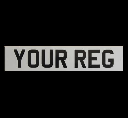 Self-Adhesive-White-Standard-Car-Plate
