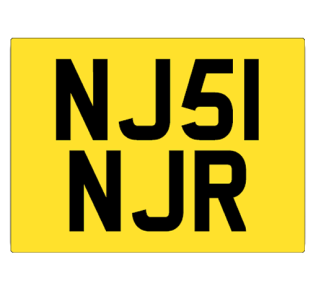 Yellow-and-Black-Perspex-Square-Car-Plate