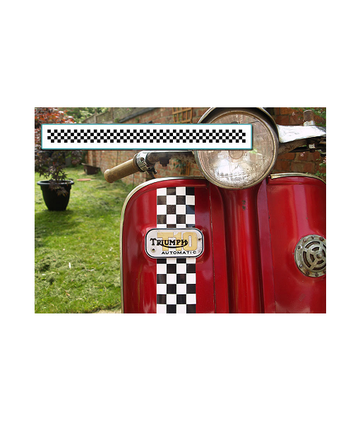 Chequered-Pattern-Decal