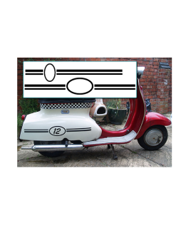 Oval-Number-and-Stripes-Decal