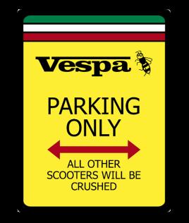 Vespa-No-Parking-Sign